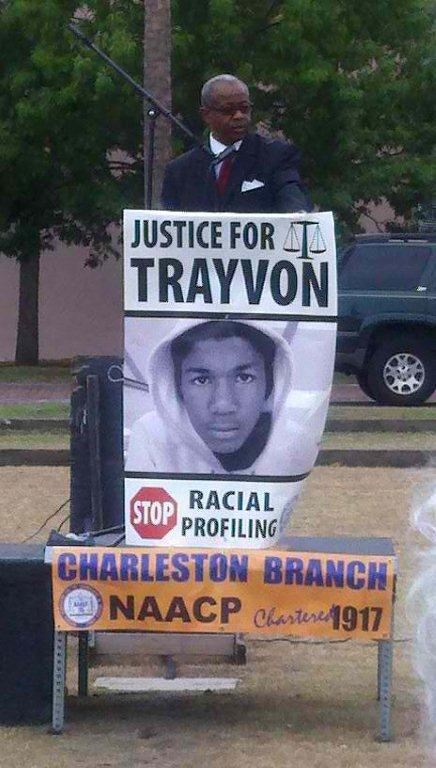 Trayvon Martin Rally - Charleston, SC