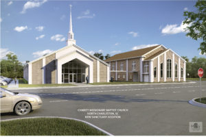 Charity Baptist RENDERING OF NEW SANCTUARY